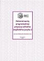 Determinanty pregraduálnej prípravy učiteľov anglického jazyka 2