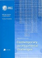 Contemporary developmental challenges