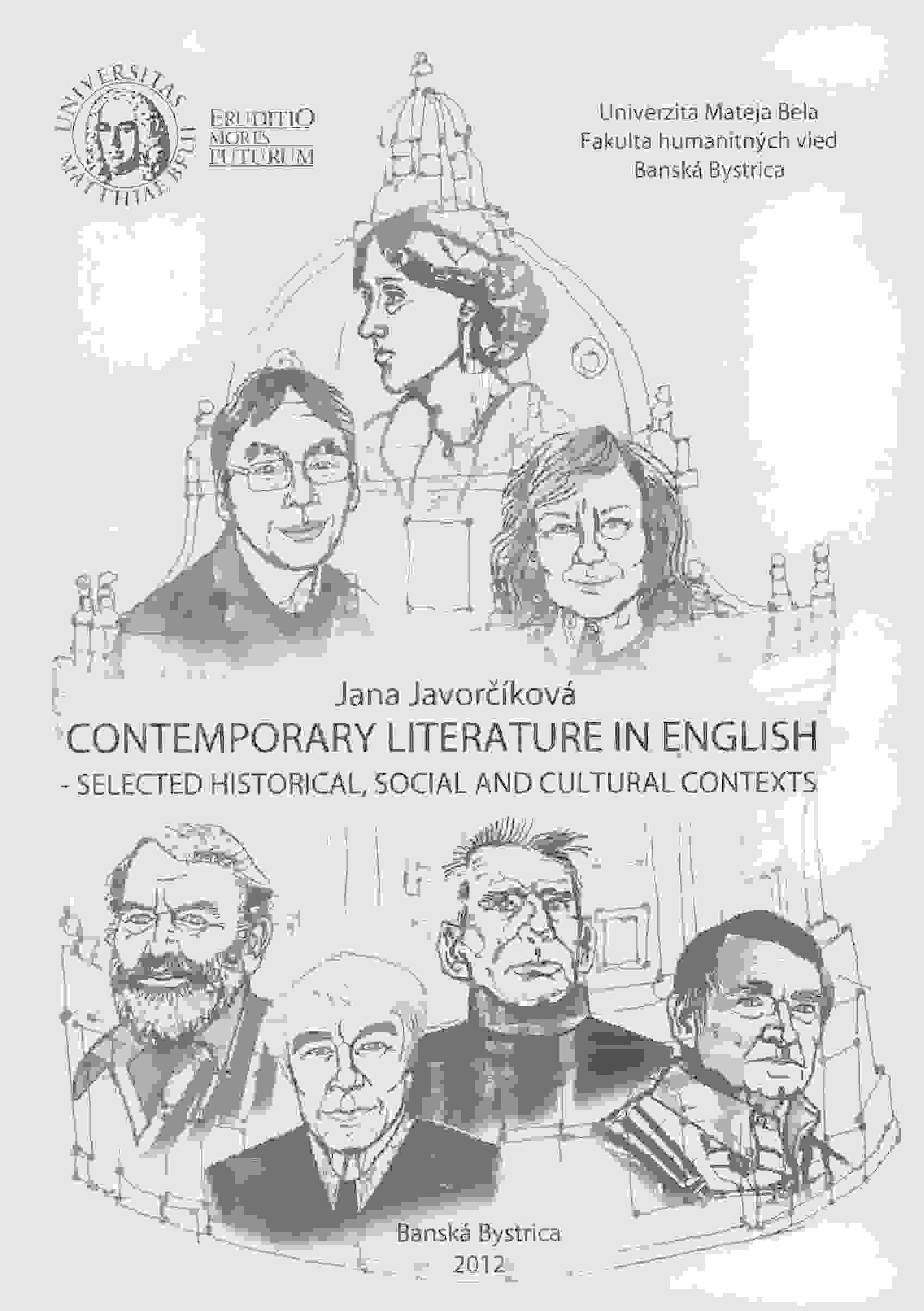 Contemporary Literature in English - Selected historical, social and cultural context