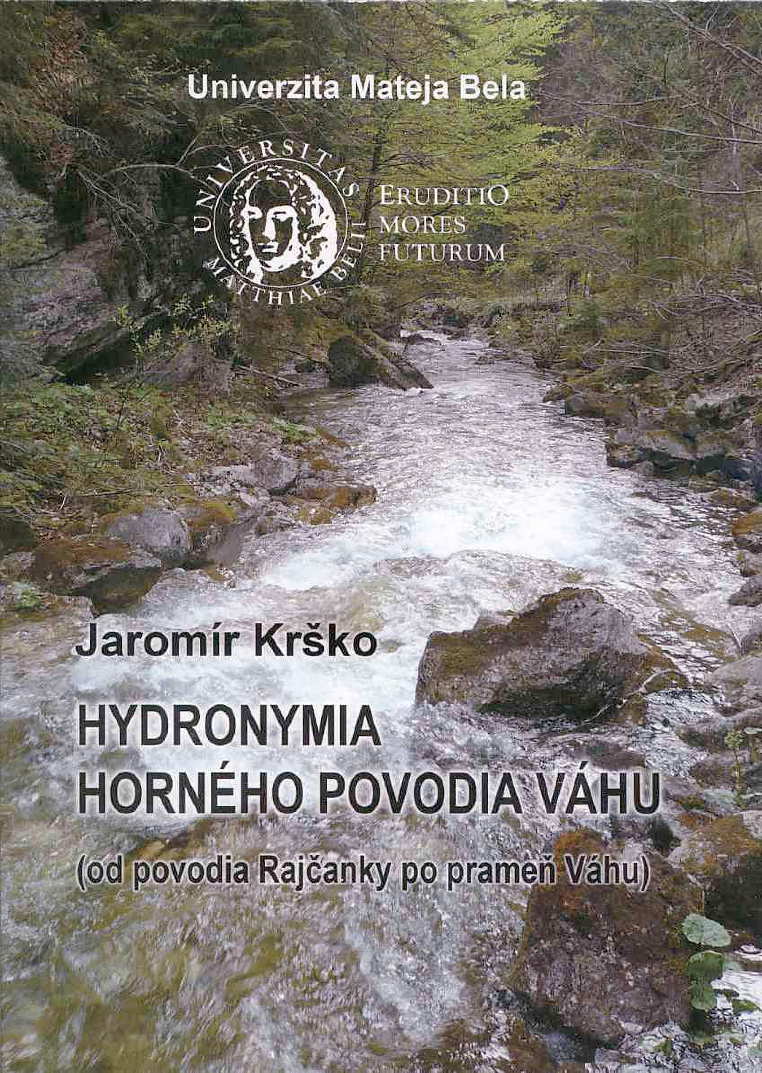 Hydronymia horného povodia Váhu