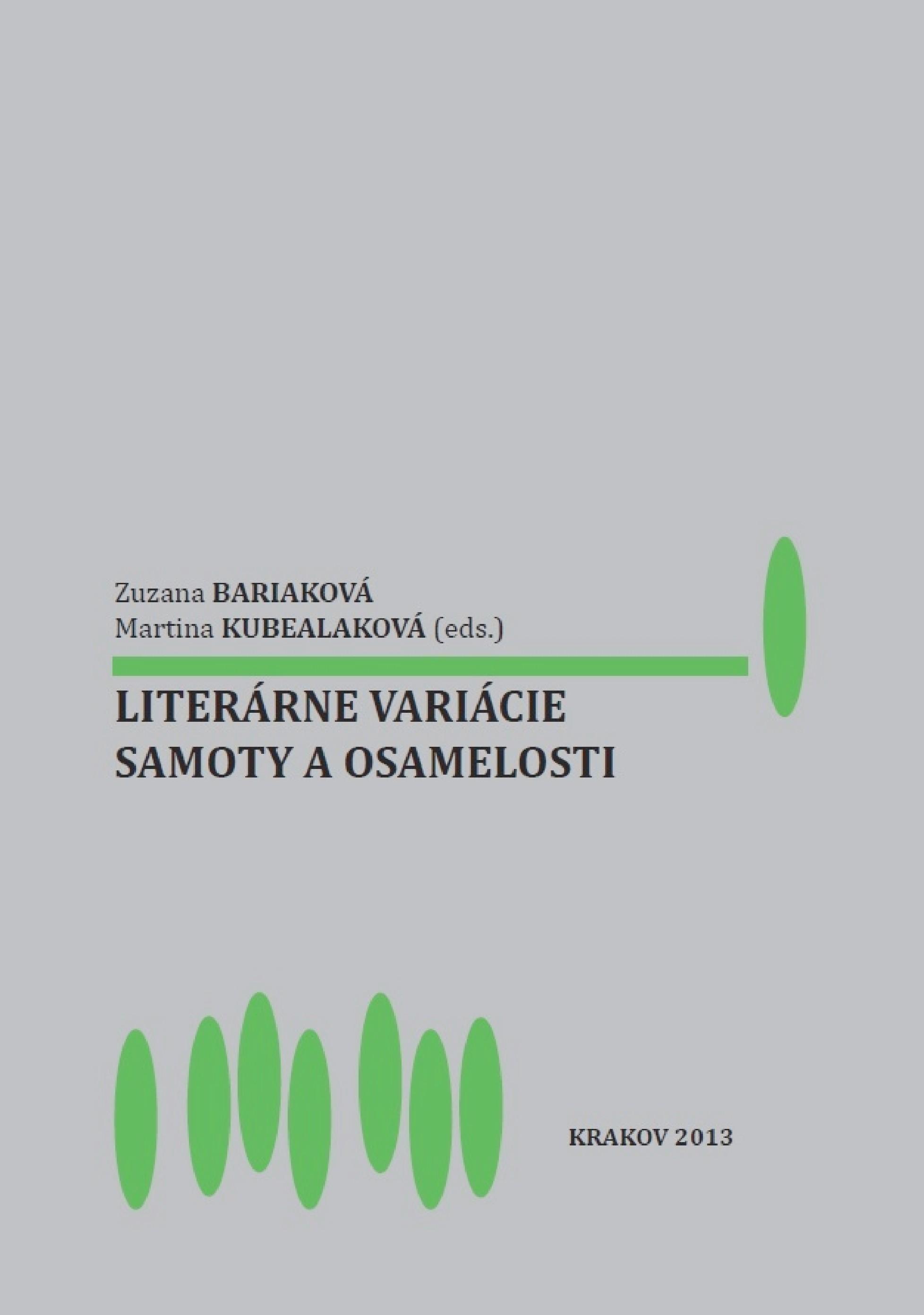 Literárne variácie samoty a osamelosti