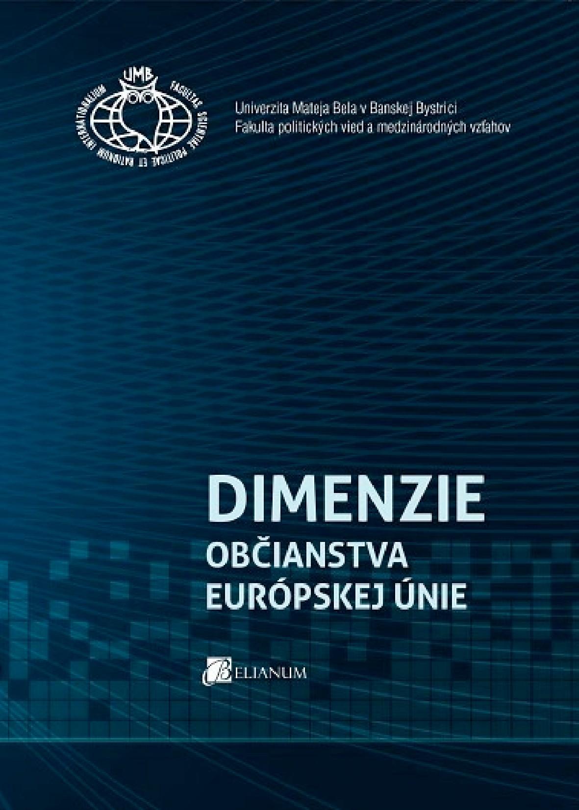 Dimenzie občianstva Európskej únie