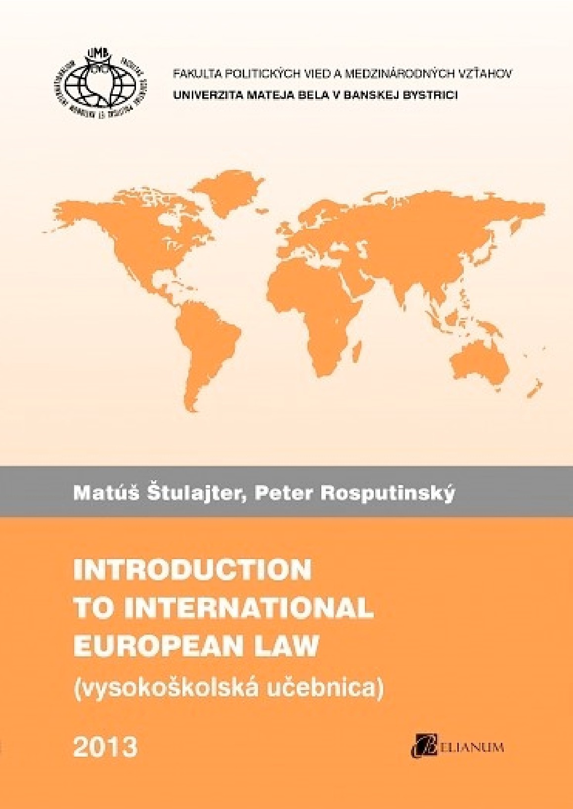 Introduction to International and European Law