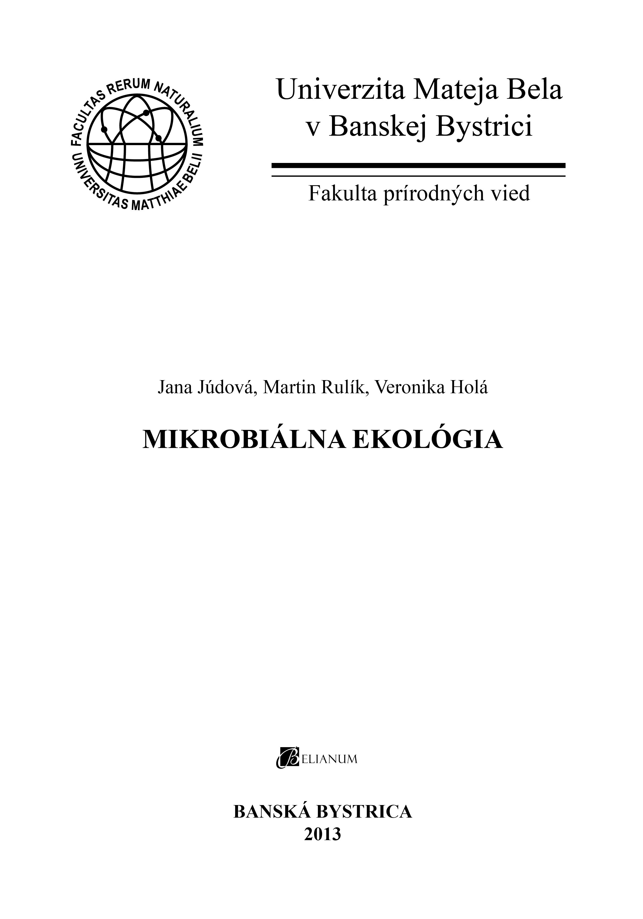 Mikrobiálna ekológia