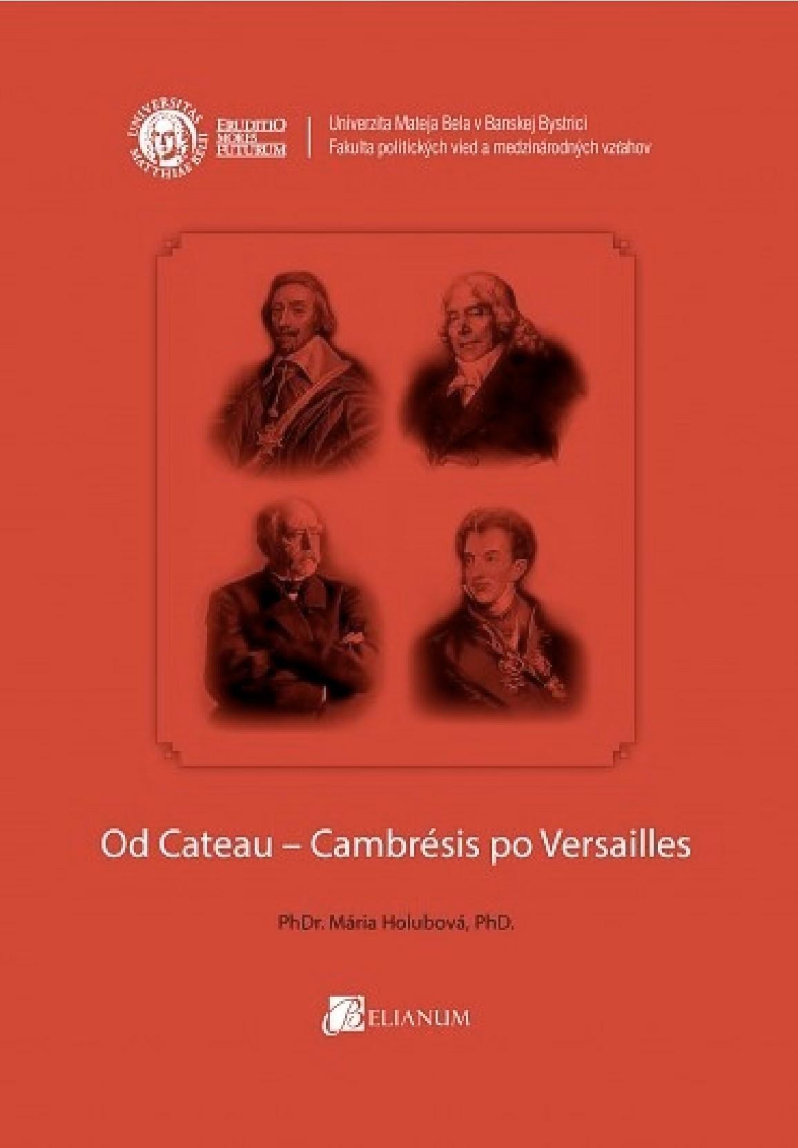 Od Cateau-Cambrésis po Versailles
