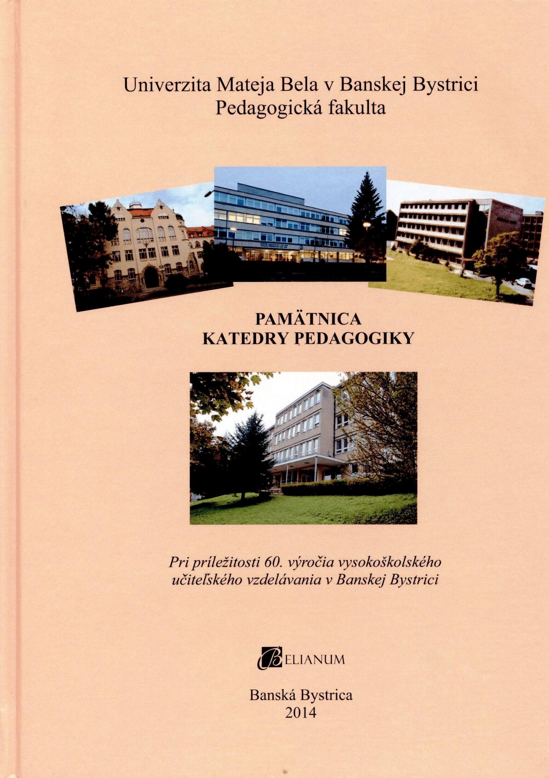 Pamätnica Katedry pedagogiky