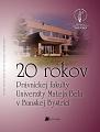 20 rokov Právnickej fakulty Univerzity Mateja Bela v Banskej Bystrici