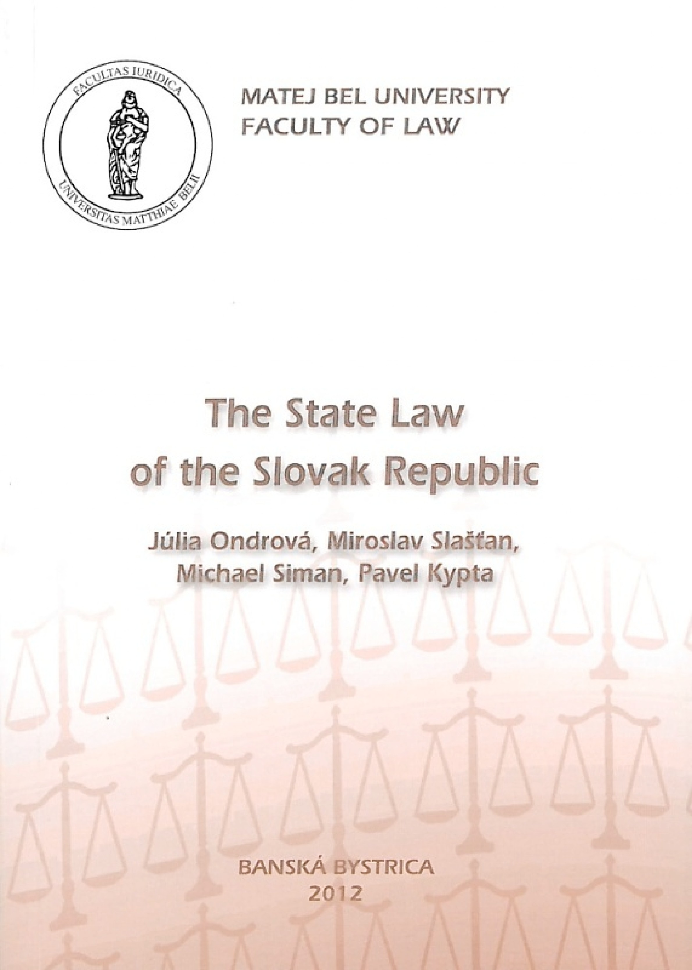 The State Law of the Slovak republic