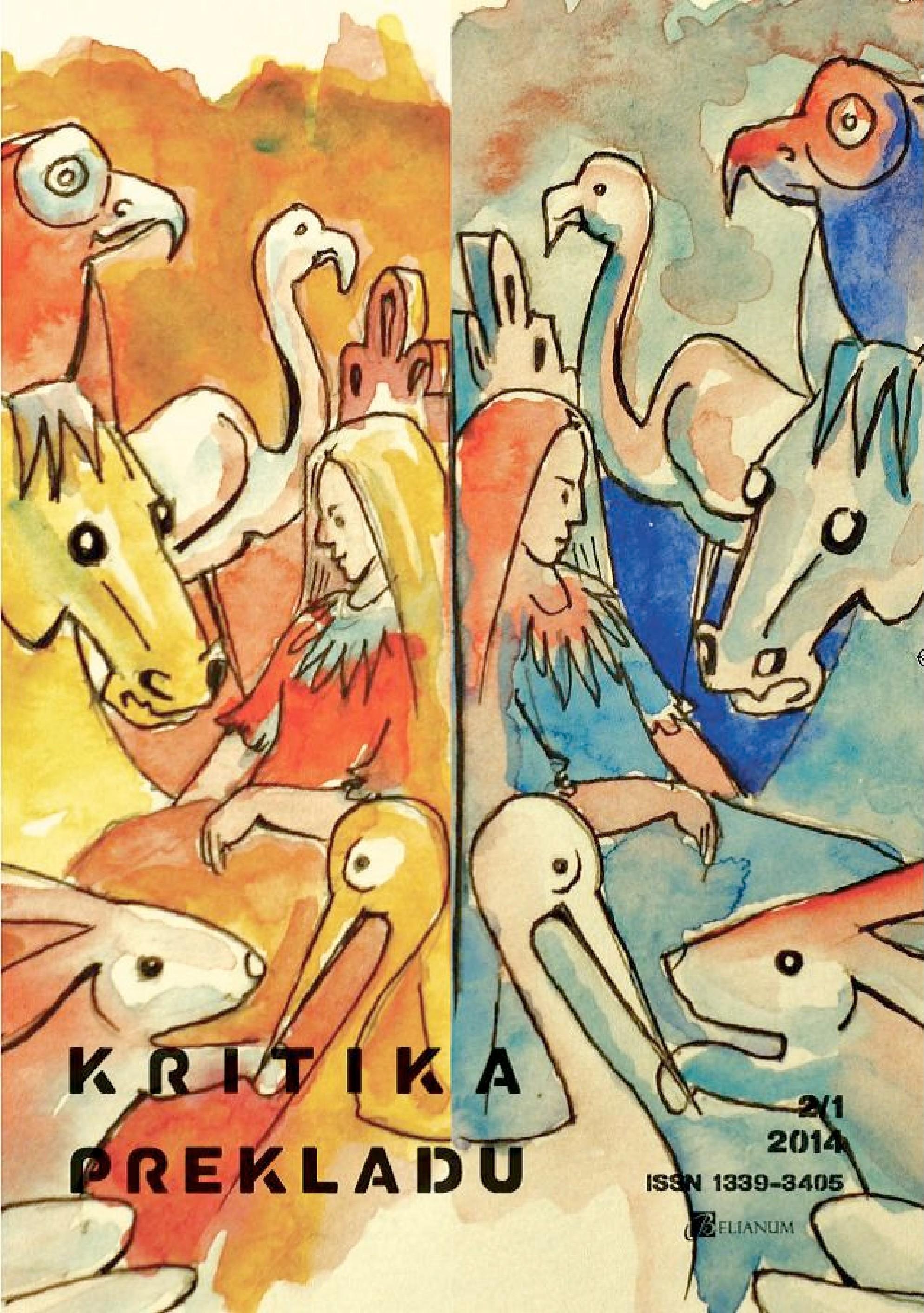 Kritika prekladu 2/1, 2014