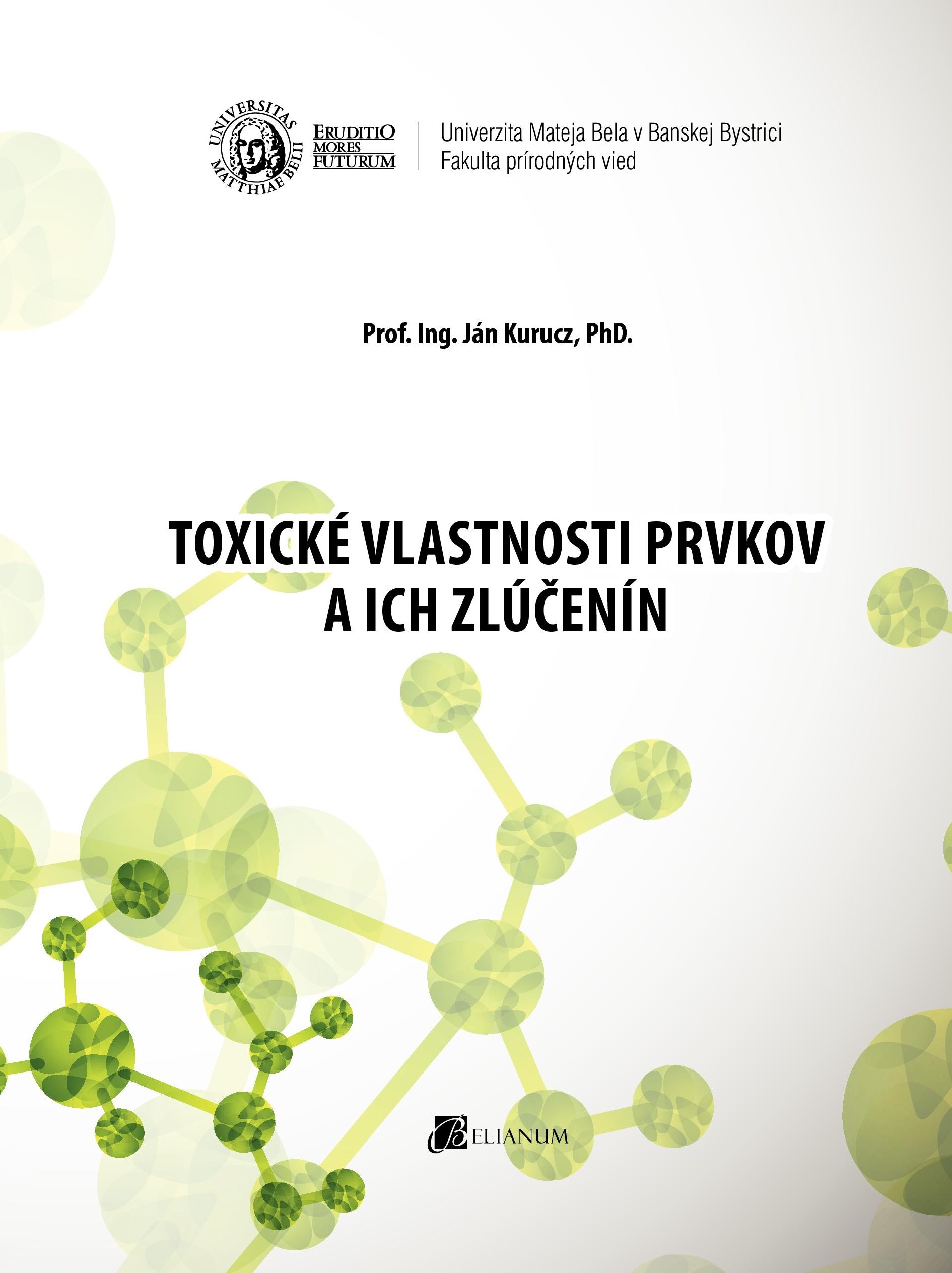 Toxické vlastnosti prvkov a ich zlúčenín