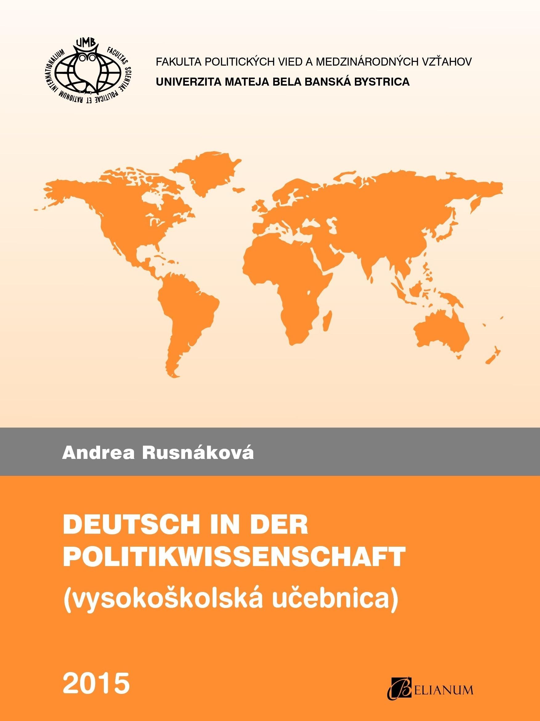 Deutsch in der Politikwissenschaft