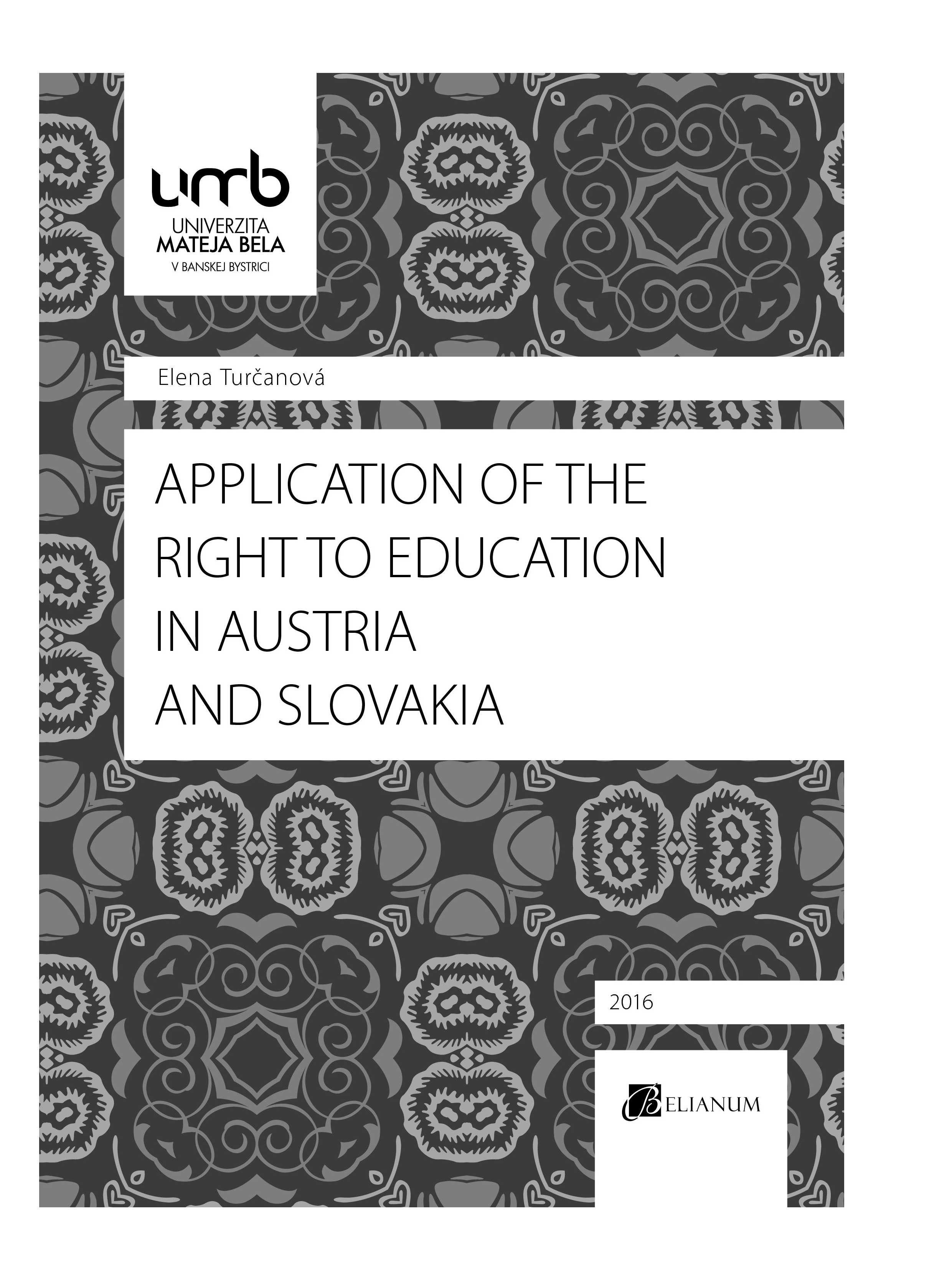 Application of the Right to education in Austria and Slovakia