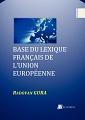 Base du lexique français de l'Union européenne