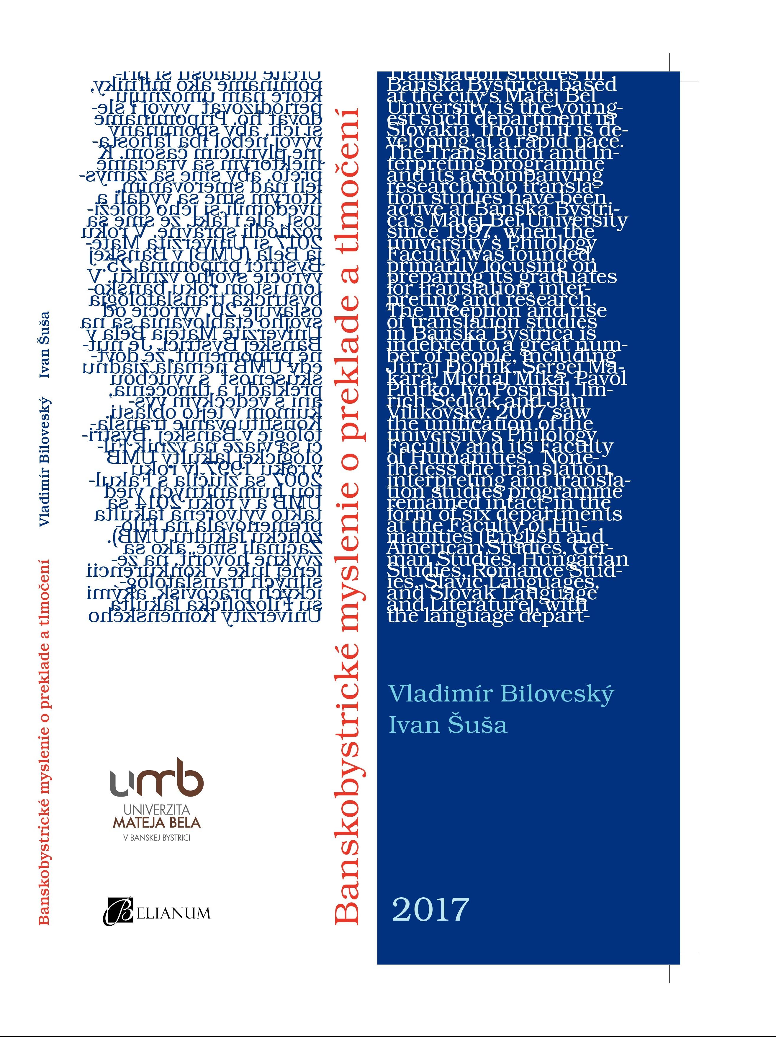 Bankobystrické myslenie o preklade a tlmočení