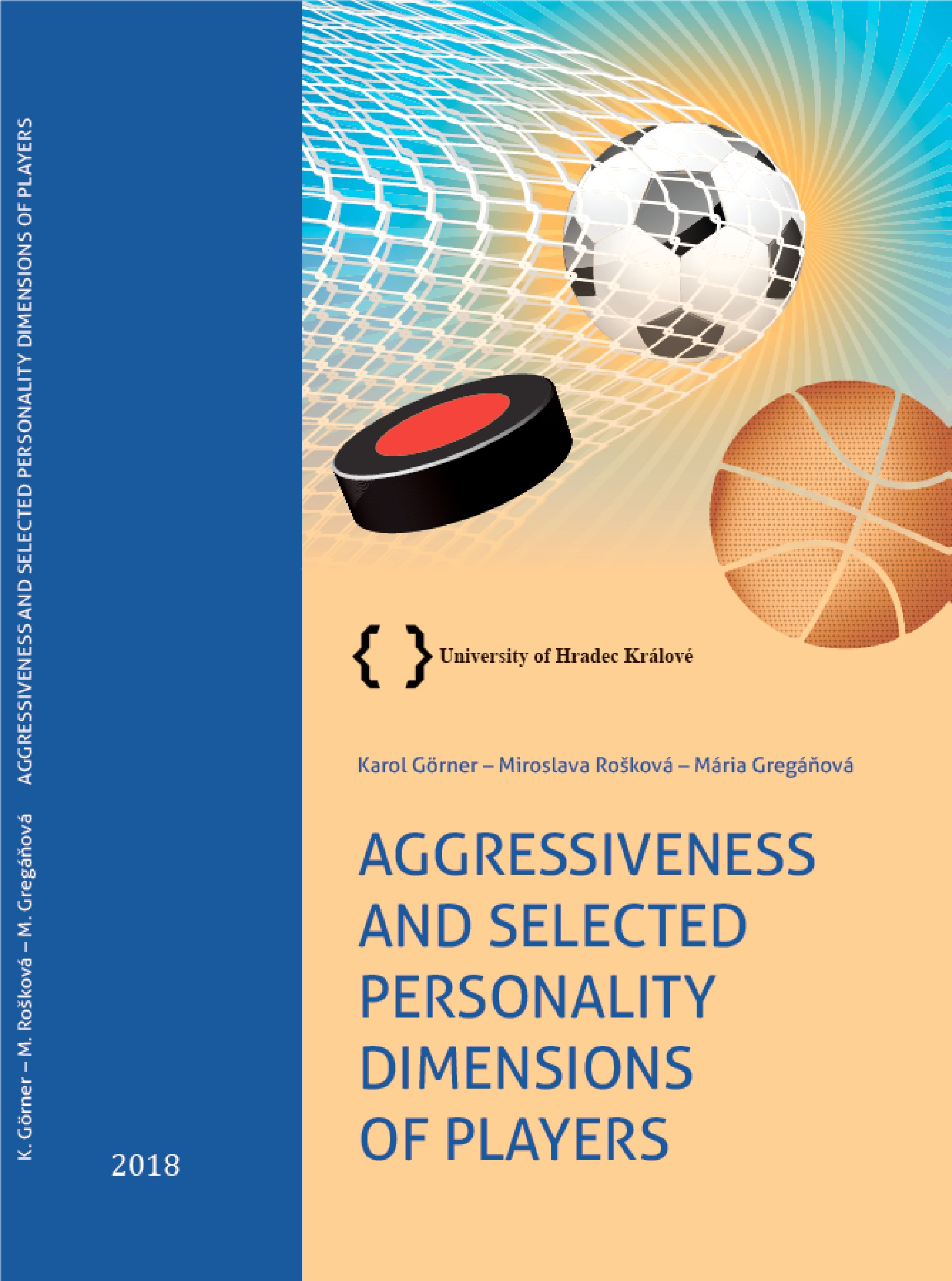 Agressiveness and selected personality dimensions of players