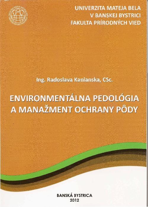 Environmentálna pedológia a manažment ochrany pôdy