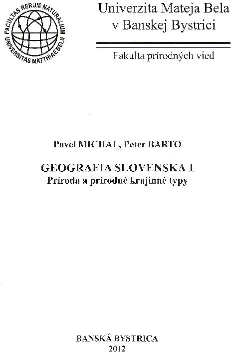 Geografia Slovenska 1