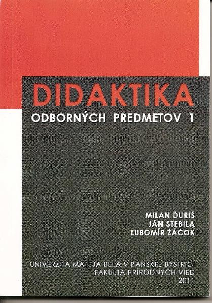 Didaktika odborných predmetov 1
