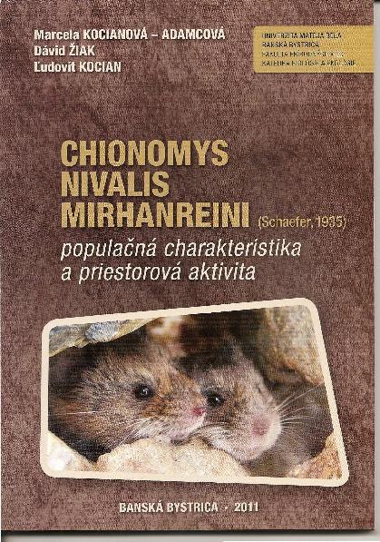 Chionomys Nivalis Mirhanreini
