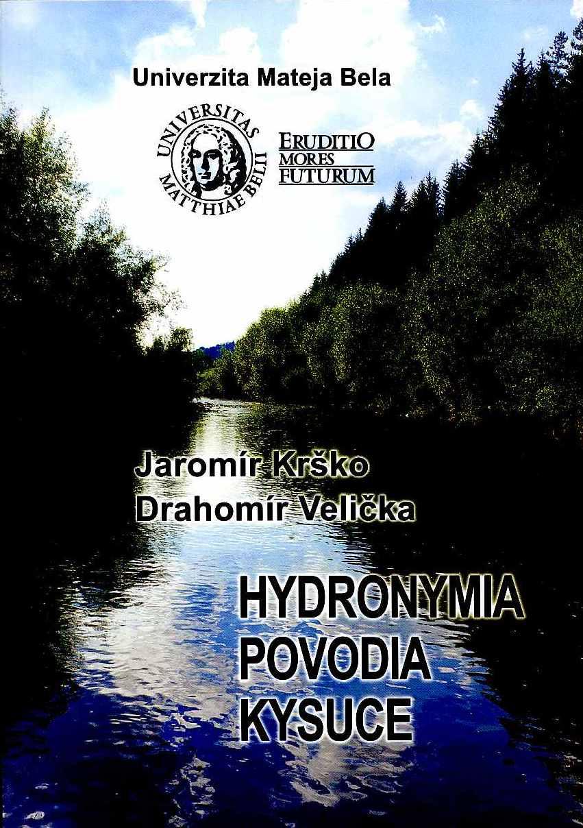 Hydronymia povodia Kysuce